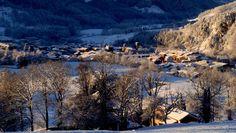 Rural house to rent. El Mariner de Sant Pau - El Mariner. snow landscape