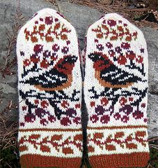 If you've seen my other patterns (http://www.ravelry.com/bundles/birds-15), you probably know that birds is my favorite subject . And berries. And any combination of both.