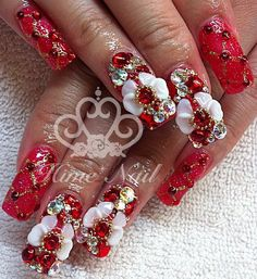 Flower Nails Www Himenail By Anese Nail Artist Located In