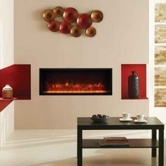 Gazco Radiance 85R Electric Inset Edge Fire