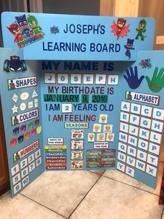 Brandon's learning activity Learning Time, Preschool Learning Activities, Baby Learning, Home Learning, Preschool Activities, Teaching Kids, Preschool Prep, Homeschool Kindergarten, Preschool At Home