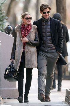 Olivia Palermo Photos - Olivia Palermo and Boyfriend Grab Lunch in NYC - Zimbio