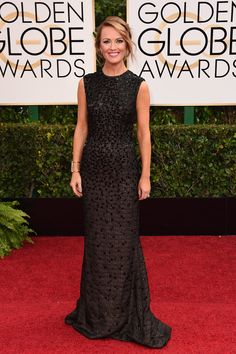 Brooke Anderson at the 72nd Golden Globe Awards