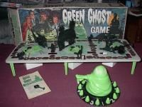 The Green Ghost board game.