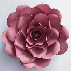 Giant Paper Flower Templates | 3D Large Paper Flower Stencil Pattern | DIY Handmade Paper Flowers | Paper Flower Decor and Backdrop for Weddings and Events Paper Flower Decor, Large Paper Flowers, Flower Decorations, Paper Flower Tutorial, Flower Template, Flower Patterns, Crafty, Instagram Posts, Handmade