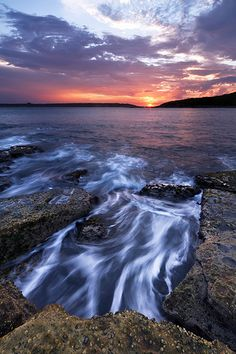 """Heading Out"" - La Perouse Sunset; Photo by: Luke Peterson; Posted by: Emily Hildebrand"
