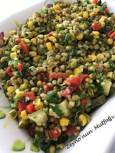 ::: Zeyno'nun Mutfağı :::: Maş Fasülyesi Salatası