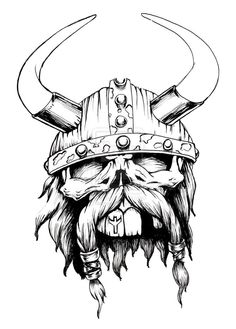 viking_skull_by_biomek-d3j0ovl.jpg (756×1057)