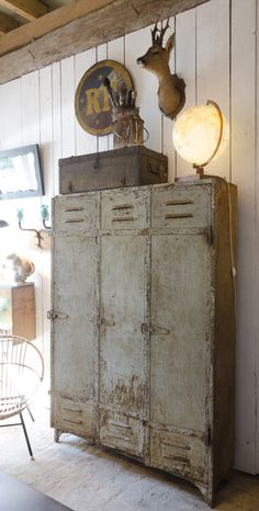 Vintage lockers for