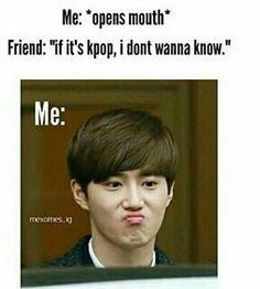 exo, kpop, memes, suho, exo memes - K-Pop Fan ES Bts Memes Hilarious, Bts Funny Videos, Really Funny Memes, Funny Relatable Memes, Wattpad, Korean Drama Quotes, Bts Funny Moments, Bts Meme Faces, Kdrama Memes