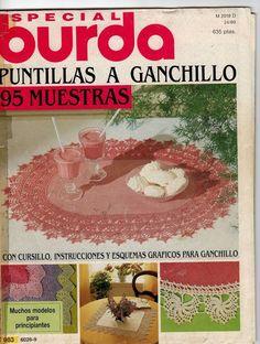 ESPECIAL BURDA PUNTILLAS A GANCHILLO - Sonia Esaurido - Álbumes web de Picasa