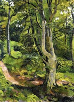 In The Woods - Suzanne Valadon