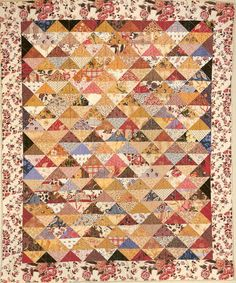 How I want to see these colors with Citron Yellow/Lime Green - Civil War Quilts