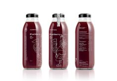 Luminous Design Group has created the packaging for the next line of  products for the Corphes brand which now includes a delicious blackberry  juice and jam.