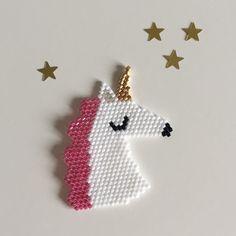 Oh la jolie Licorne  #lapetiteepicerie #jenfiledesperlesetjassume #miyuki #licorne