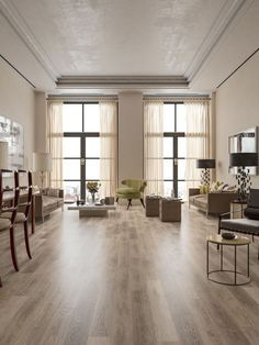 Interested in buying a few of the most stylish wide natural plank flooring looks? Click Vinyl Plank Flooring, Wide Plank Flooring, Wood Flooring, Hardwood Floor, Best Interior Design Apps, Interior Design Living Room, Floor Design, House Design, Kitchen Vinyl