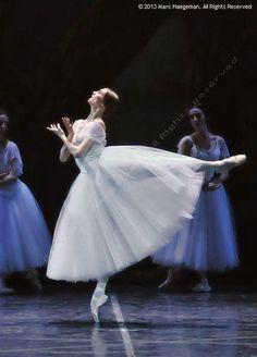 Heavenly: Svetlana Zakharova in Giselle, Act 2. Photo by Marc Haegeman