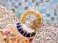 Angel in blue sky (detail) - Rah Rivers