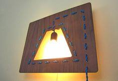 Luminária costurada