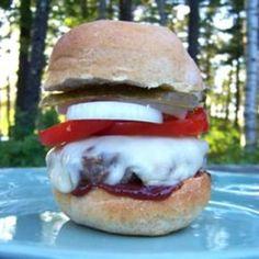 Jalapeno-Blue Cheese Burgers