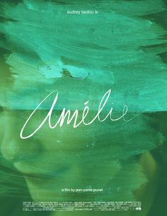 Audrey Tautou is Amélie a film by Jean Pierre Jeunet <3