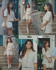 Diana Fashion, Fashion Tv, Girl Fashion, Classy Outfits, Chic Outfits, Fashion Outfits, Neue Outfits, Turkish Fashion, Cute Girl Face