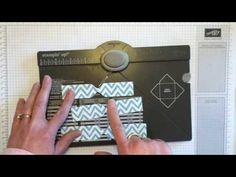 Make a Bow on the Envelope Punch Board - FREE tutorial for several EPB projects at https://www.facebook.com/groups/stampwithjodiandfriends/