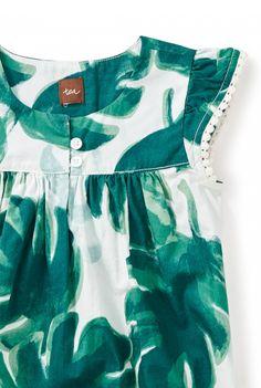 Palm Flutter Dress | Tea Collection