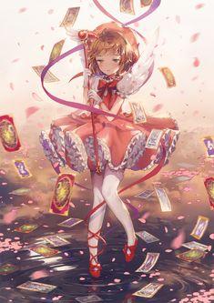Tags: Cardcaptor Sakura, Fanart, Kinomoto Sakura, Pixiv, PNG Conversion, Fanart From Pixiv, Dangmill