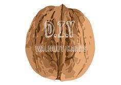 D.I.Y Walnoot Kaars Een leuke creatieve manier om een walnoot te hergebruiken.  D.I.Y Walnut Candle A very fun and creative way of re-using a walnut!