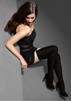 POŃCZOCHY EXCLUSIVE HOLD-UPS 40 - e-marilyn.pl