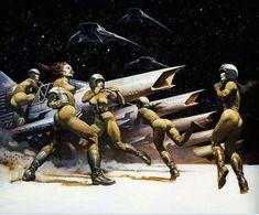 Frazetta Battlestar Galactica