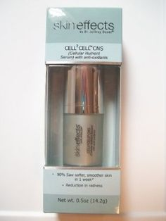 Skin Effects Cell2Cell CNS(Cellular Nutrient Serum) with anti-oxidants, .5oz. Nicorobin http://www.amazon.com/dp/B00GX8SI70/ref=cm_sw_r_pi_dp_FoY7ub0SBT5NP