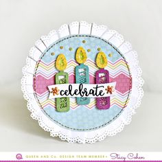 Hi everyone! Stacy Cohen here with some 'fun-with-foam' projects to share. I love that Queen & Co's products are versatile enough to be used on a variety of crafty projects! I used products from the new Butterflies Shaker Kit (which...
