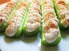 Garlic and Sea Salt: Stuffed Celery