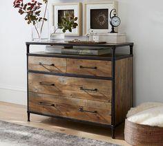 Juno Reclaimed Wood Dresser #potterybarn