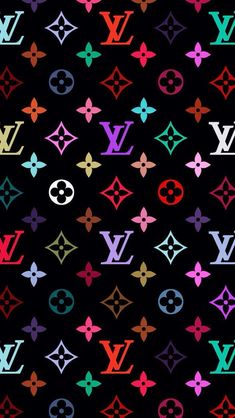 Louis Vuitton x Supreme pattern Wallpaper Wallpapers