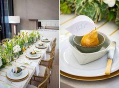 Yellow, Mint And Gold Wedding Inspirational Shoot | Weddingomania