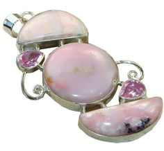 Adelaide Sterling Silver Opal Pendant $96