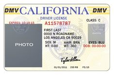 California Drivers License By Tylerallen Dwa Perfect California Drivers License Template Ca Drivers License, Drivers License California, Drivers License Pictures, Drivers Permit, Driver License Online, Driver's License, Passport Template, Id Card Template, Money Template