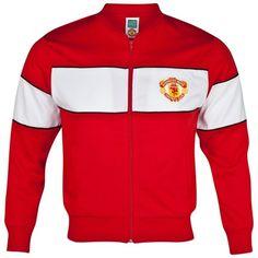 6d214c2d041 Manchester United Retro 1985 FA Cup Final Track Jacket Goalkeeper Kits
