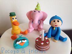 Pocoyo cake toppers
