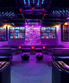 Mokai Nightclub Miami Interior Design Bar