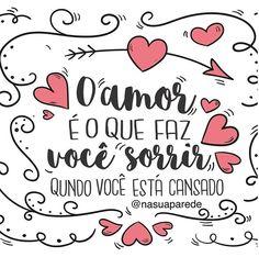 """👆🏼💬...Néh ?  Resposta de uma #criança -Terri, 4 anos - para a pergunta """"o que é o amor ? """"  Adoooro 😁❤️😴... Até amanhã 👋🏼... . #nasuaparede #bonssonhos #cansada #diaadia #ensinamentos  #boanoite #amor #inspirações #perfeito #vida  #soacho #sabedoria #éisso #bemassim #fato  #filosonando #sejaleve #sorriso #vaivendo #sempre #amigos #minhagente #pensamentos #vida #ficaadica  #frases #coragem #casamento #noivas"""