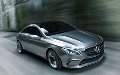 Here's the new Mercedes Concept Style Coupe concept, aka baby CLS.