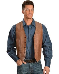 Enjoy your own premium Scully Leather vest from the leather craftsmen who produced leather jackets, gloves, and helmets for WWI and WWII pilots and Admiral Byrd's expedition to the Antarctic Learn more by clicking on Men's Scully Leathers and Apparel. Scully Leather Company has been...  More details at https://jackets-lovers.bestselleroutlets.com/mens-jackets-coats/vests/product-review-for-scully-mens-western-vest-single-point/