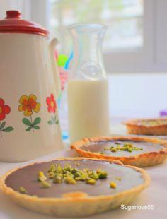 Sugarlove55: Tartaletas de hojaldre con ganache de chocolate y ...