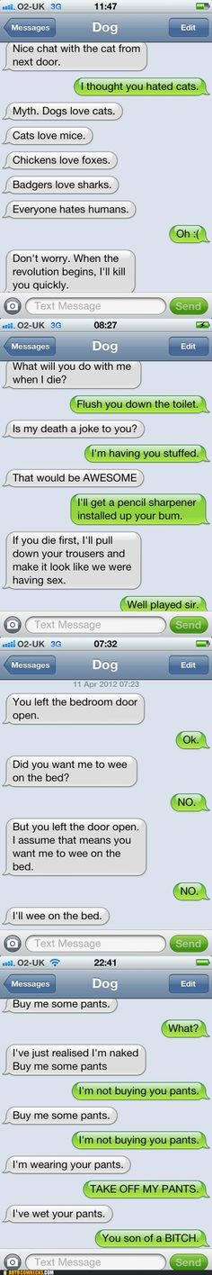 If Dogs Could Text, PartII