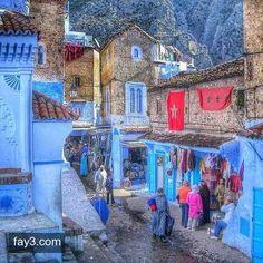 مدينة شفشاون #المغرب