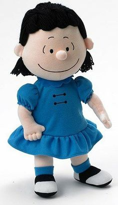 """Amazon.com: Madame Alexander 14"""" Lucy Cloth Doll Peanuts Collection: Toys & Games"""
